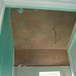 Ceiling plaster-plastering jobd done