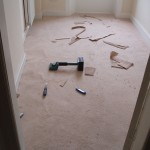Used carpet fitting