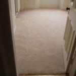 Used carpet job done