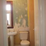 bathroom during work